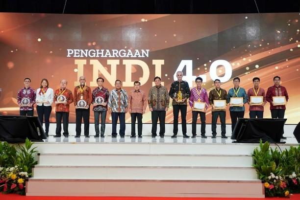 Dirut Pupuk Kaltim Raih Penghargaan INDI 4.0