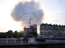 Tak Sengaja, Youtube Kaitkan Kebakaran Notre-Dame dengan 9/11