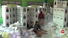 VIDEO: KPU Ganti Kotak Suara Rusak di Bogor
