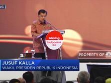 JK Bantah Indonesia Alami Deindustrialisasi, Ini Alasannya