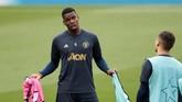 Paul Pogba akan menjadi andalan Man United di lini tengah. Pada laga akhir pekan di liga domestik, Pogba mencetak dua gol untuk The Red Devils. (Action Images via Reuters/Carl Recine)