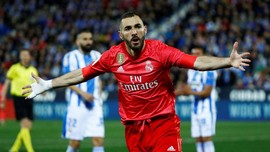 Benzema Selamatkan Real Madrid dari Kekalahan di Liga Spanyol