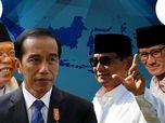 Real Count KPU 09.00 WIB Sudah 33%: Prabowo-Sandi 44,09%