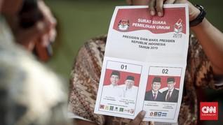 Real Count KPU 32,27 Persen: Jokowi Ungguli Prabowo Sementara