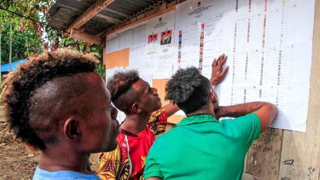 Logistik Pemilu Telat, Pemilih di Jayapura Belum Mencoblos