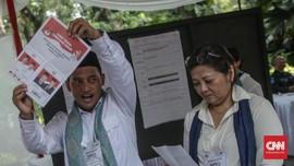 Suara Jokowi dan Prabowo di Tunisia Imbang