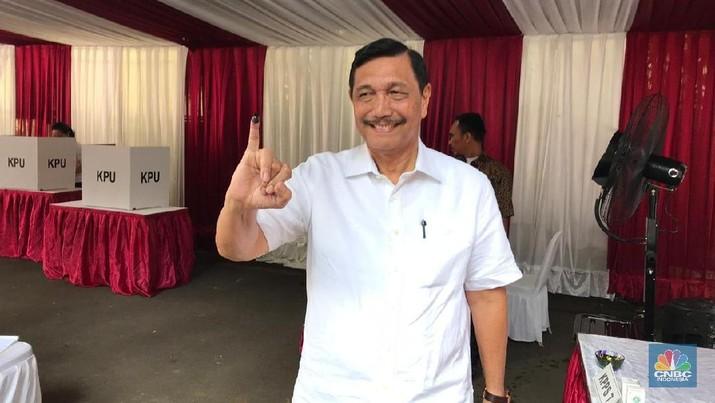 Luhut Tak Pernah Terpikir Prabowo Jadi Presiden