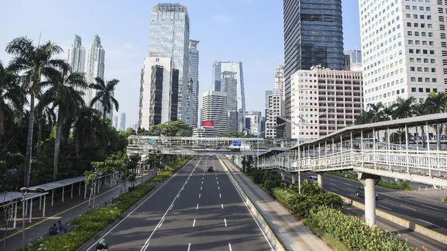 Jalan Ibu Kota Sepi Kendaraan pada Hari Pemilu 2019