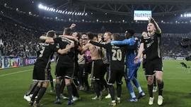FOTO: Ajax Tumbangkan Juventus dan Ronaldo