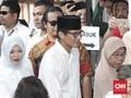 Sandiaga Bungkam saat Tinggalkan Kediaman Prabowo