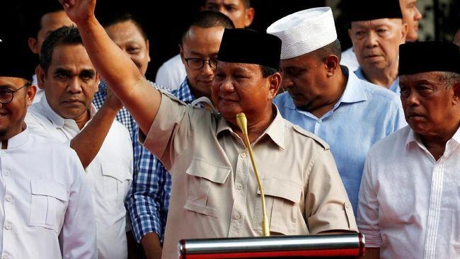 Klaim Menang Pilpres, Prabowo Janji Rangkul Kubu Jokowi