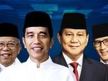 Wow! Dana Kampanye Jokowi Rp 606 M, Prabowo Rp 213 M
