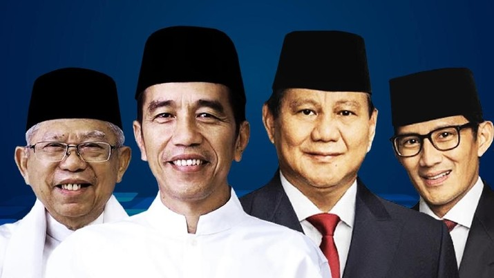 Quick Count Pukul 15.14 WIB: Jokowi Masih Unggul Vs Prabowo