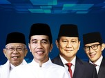 Real Count KPU Pukul 09.15 WIB: Jokowi 58,02% & Prabowo 41,9%