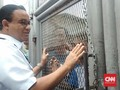 Anies Kunjungi Rutan Salemba, Napi Serukan Nama Prabowo