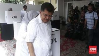 JK Optimis Jokowi Genggam Suara Terbanyak di TPS-nya