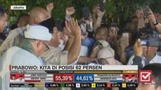 VIDEO: Detik-detik Prabowo Sujud Syukur, Klaim Kemenangan