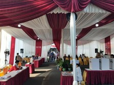TPS Tempat Jokowi Nyoblos Masih Sepi