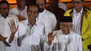 Jokowi-Ma'ruf Meraih Suara Terbanyak di Kampung Ahok