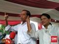 Jokowi Pantau Hitung Cepat di Djakarta Theater
