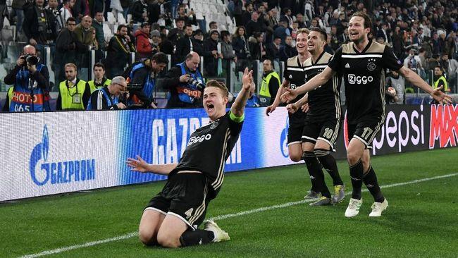 Ajax Tak Punya Rasa Takut Lagi Usai Bunuh Madrid dan Juve