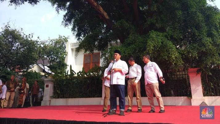 Hitung Cepat Jokowi Menang, Prabowo-Sandi: Hati-Hati