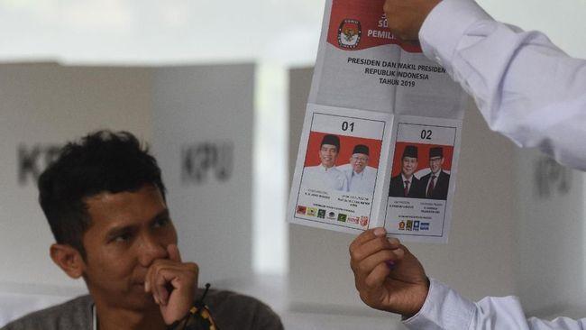 Jokowi-Ma'ruf Unggul di TPS Keluarga Cendana