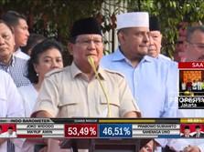 Ini Pidato Klaim Kemenangan Prabowo
