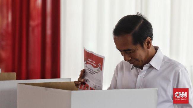 Quick Count LSI Denny JA 74,65 Persen: Jokowi 54,61 Persen