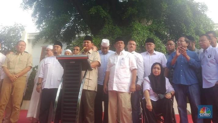 Prabowo: Hasil Exit Poll & Quick Count Kita Menang