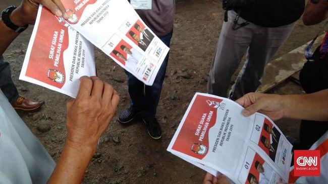 KPU Telusuri Kebenaran Kabar Surat Suara Tercoblos Jokowi