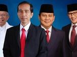 Real Count KPU Pukul 15.30 WIB: Jokowi 55,2% & Prabowo 44,8%