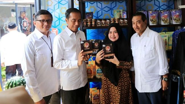 BRI Boyong Mitra UMKM Binaan ke Halal Park Jakarta