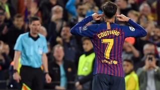 Coutinho 'Takdir' yang Gagal di Barcelona