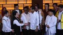 Real Count KPU 26,8 Persen: Jokowi 55,3, Prabowo 44,6 Persen