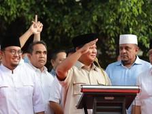 Wah! Suara Prabowo-Sandi 43%, Turun Lagi di Real Count KPU