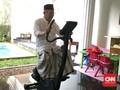 Ma'ruf Amin Olahraga Sepeda Statis Sebelum Nyoblos Pemilu