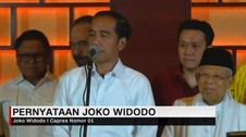 VIDEO: Menang Quick Count, Jokowi Minta Tunggu Hasil KPU