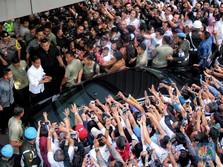 Quick Count Pukul 20.00 WIB: Jokowi 54% Vs Prabowo 46%