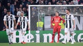 Saham Juventus Anjlok usai Tersingkir dari Liga Champions