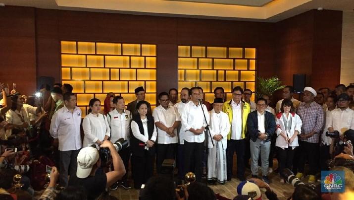 Unggul Quick Count, Jokowi: Harap Bersabar Tunggu Hasil KPU