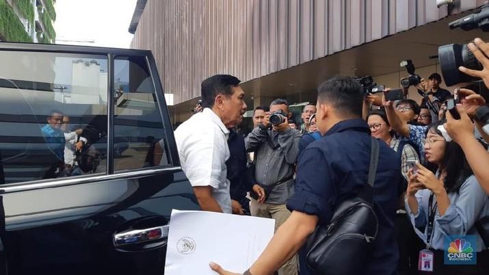 Jokowi Pantau Quick Count Pilpres di Djakarta Theater