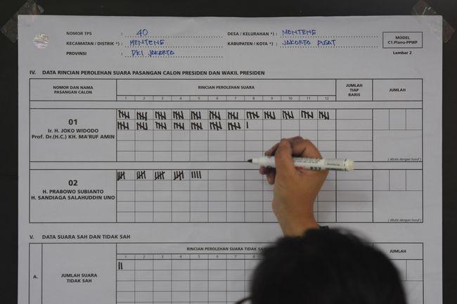 Situs Kawal Pemilu 'Diserang' Data C1 Palsu