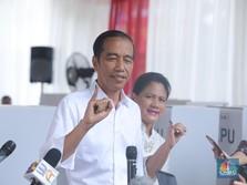Usai Pencoblosan: Jokowi: Rasanya Ploong