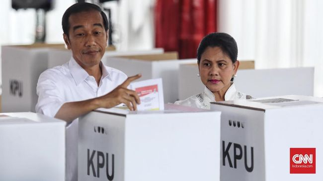 Jokowi-Ma'ruf Amin Kuasai Hitung Suara Pemilu 2019 di Libanon