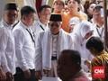 Sorak-sorai dan Selawat Iringi Ma'ruf Amin Usai Mencoblos