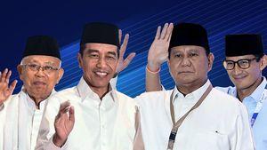 Update Real Count KPU: Jokowi-Ma'ruf Kini Kuasai 56,12% Suara