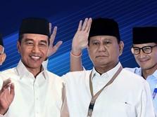 Quick Count 4 Lembaga Sudah 99%, Jokowi-Ma'ruf Unggul 55%