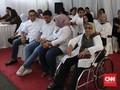 Anies Sekeluarga Pakai Baju Putih Saat Mencoblos Pemilu 2019