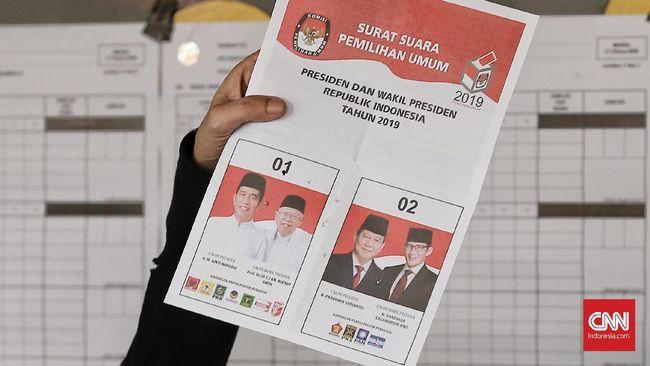 Hasil Exit Poll BPN, Prabowo Unggul 55,4 Persen dari Jokowi